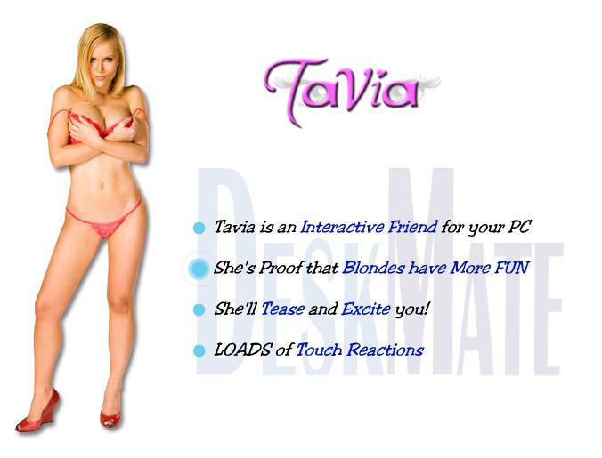 Tavia Virtual Girl DeskMate